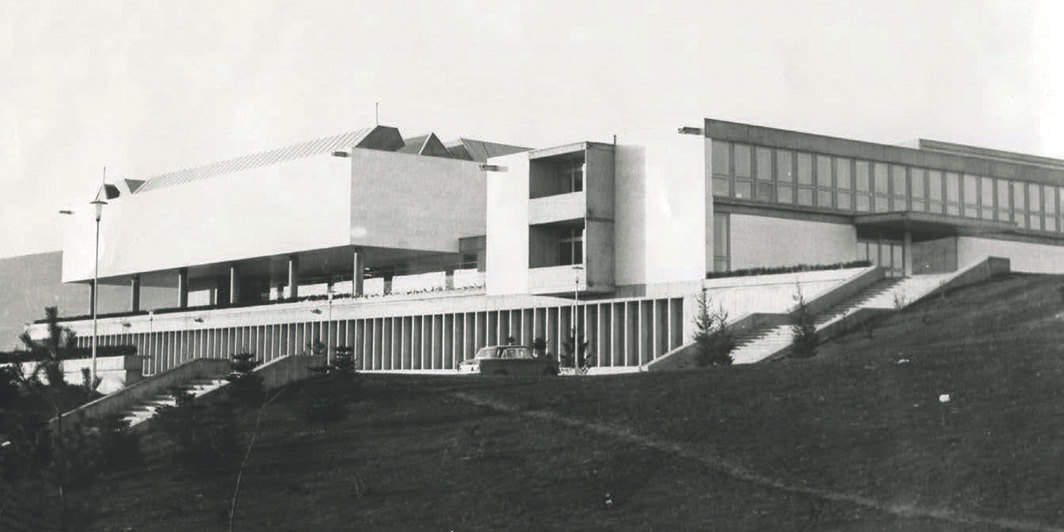 Museum of Contemporary Art, Skopje, North Macedonia, ca. early 1970s.