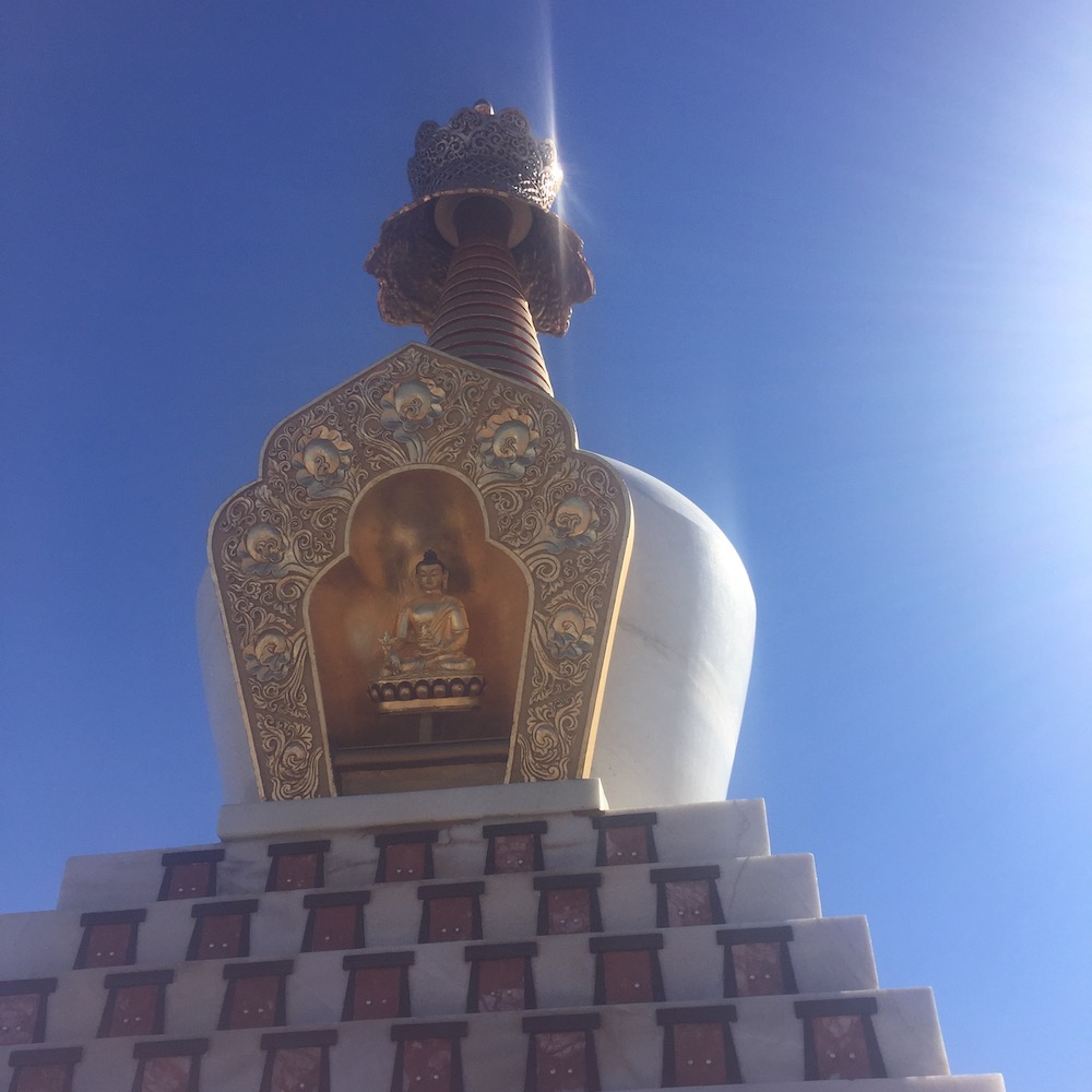 Medicine stupa in Truth or Consequences, NM.