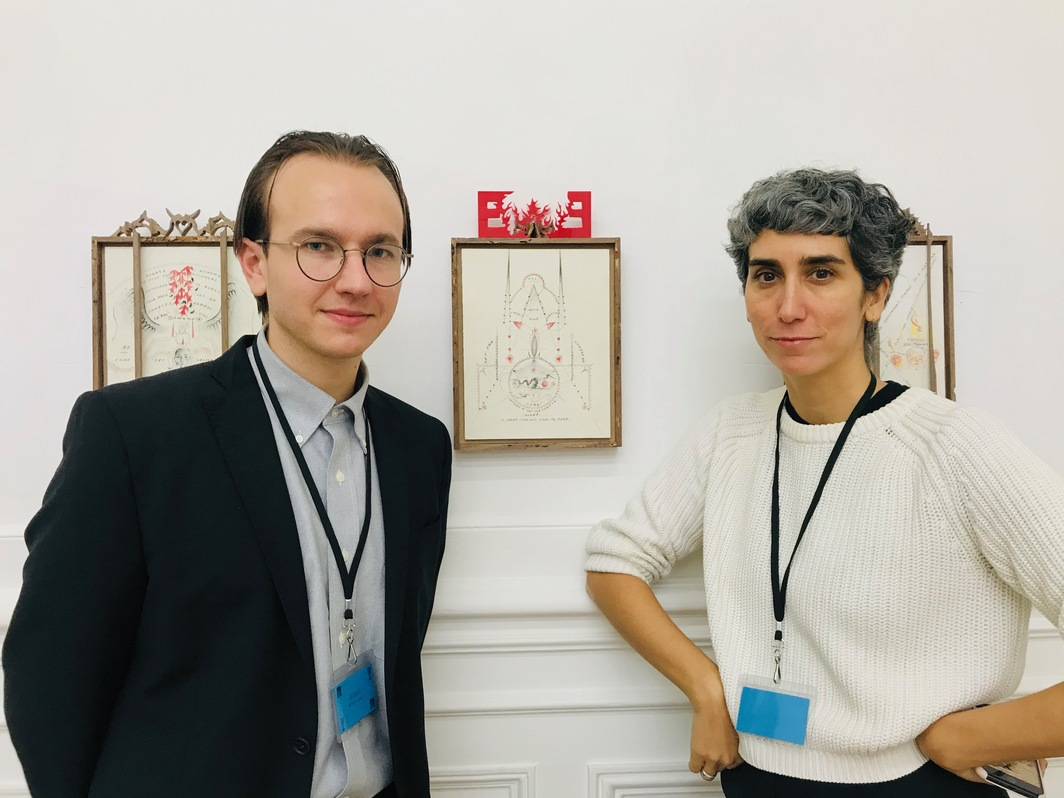 Bureau's Weston Lowe and Gabrielle Giattino at Paris Internationale.
