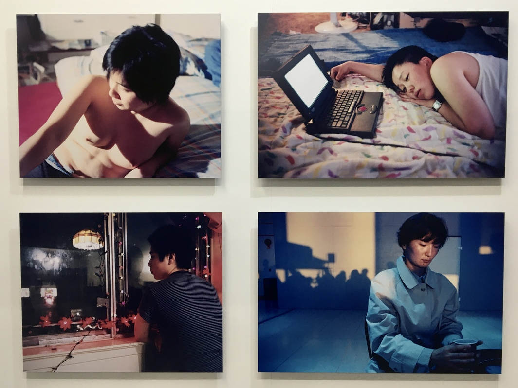 "Joo Hwang, Hudson Street, 1996, digital c-print, 47 x 38"", at Art Space Boan 1942. All photos: Hiji Nam."
