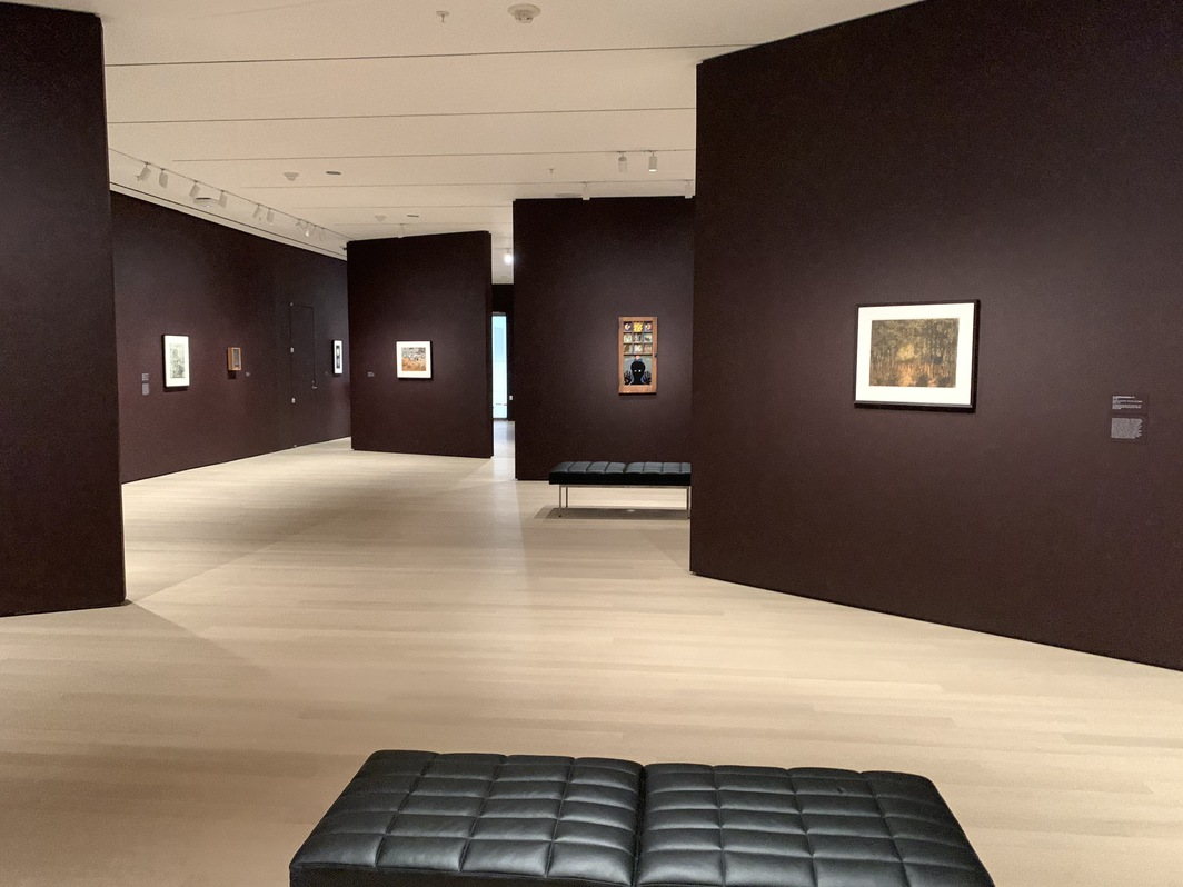 "Installation view of ""Betye Saar: The Legends of Black Girl's Window"" (2019) at the Museum of Modern Art in New York. Photo: Lauren Cavalli."