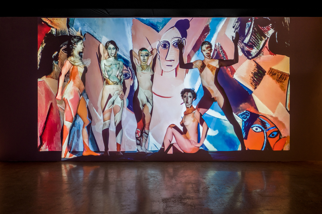 Theo Eshetu, Adieu Les Demoiselles, 2019, HD video, color, sound, 8 minutes 45 seconds.