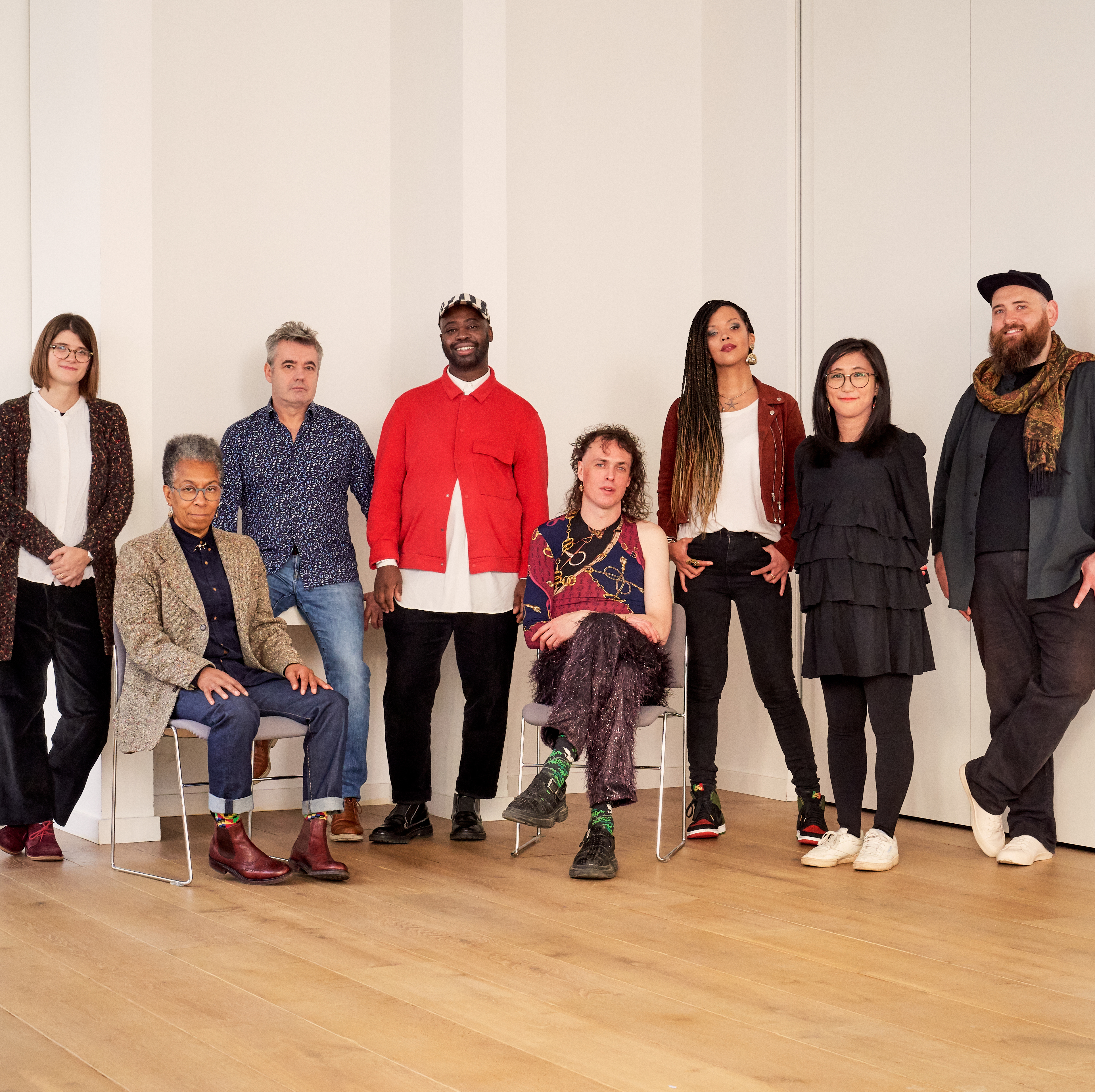 The 2019 Awards for Artists recipients. Photo: Emile Holba. Courtesy of the Paul Hamlyn Foundation.