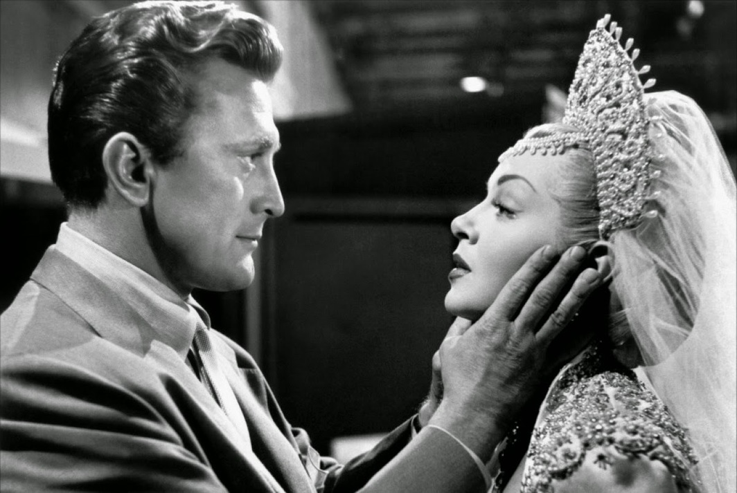 Vincente Minnelli, The Bad and the Beautiful, 1952, 35 mm, black-and-white, sound, 118 minutes. Jonathan Shields and Georgia Lorrison (Kirk Douglas and Lana Turner).
