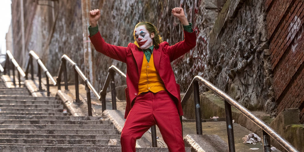 Todd Phillips, Joker, 2019, 35 mm, color, sound, 122 minutes. Arthur Fleck (Joaquin Phoenix).