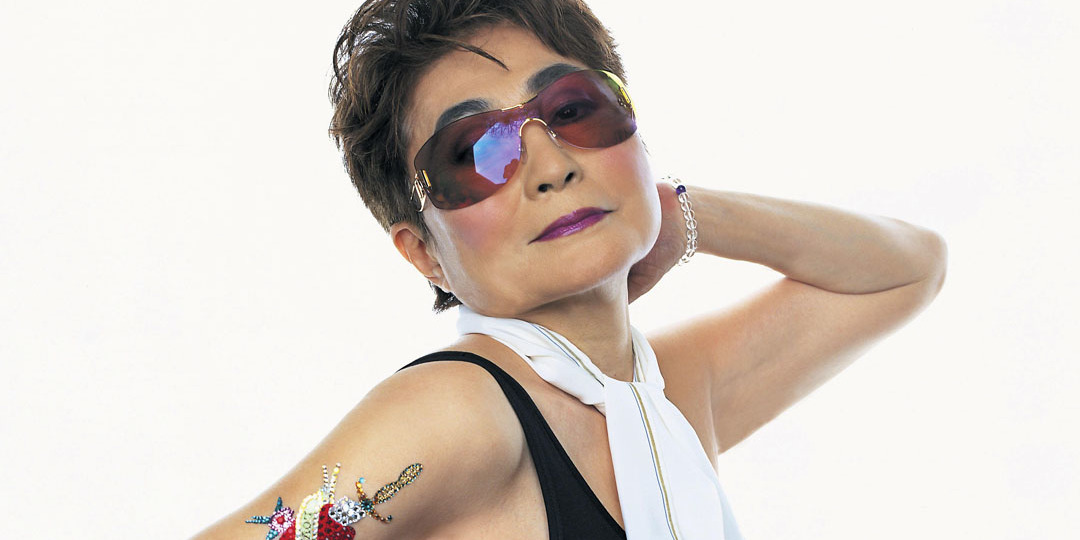 Yoko Ono, 2002. Photo: Mark C. O'Flaherty/Camera Press/Redux.