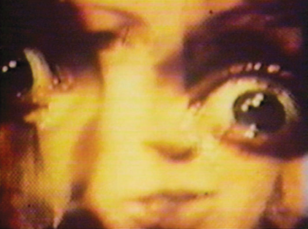 Gretchen Bender, Reality Fever, 1983, video, color, silent, 6 minutes 20 seconds.