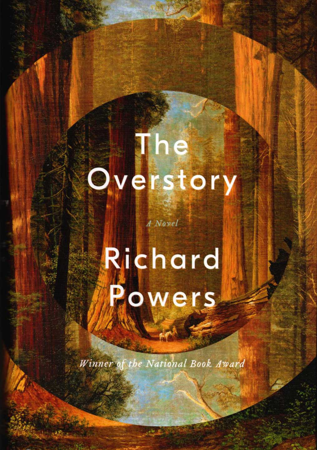 Cover of Richard Powers's The Overstory (W.W. Norton, 2018).