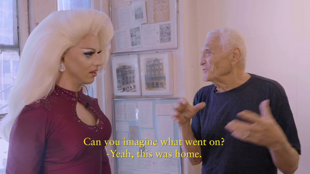 Miz Cracker Visits: John Giorno