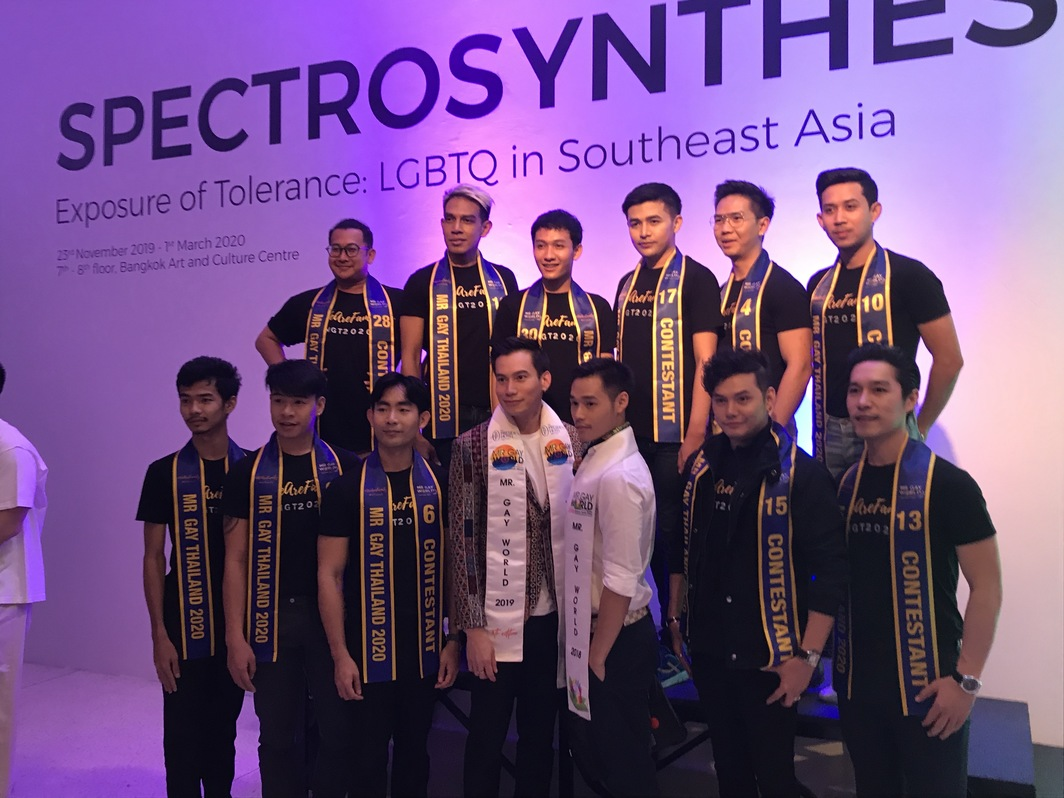Mr. Gay World and Mr. Gay Thailand contestants.