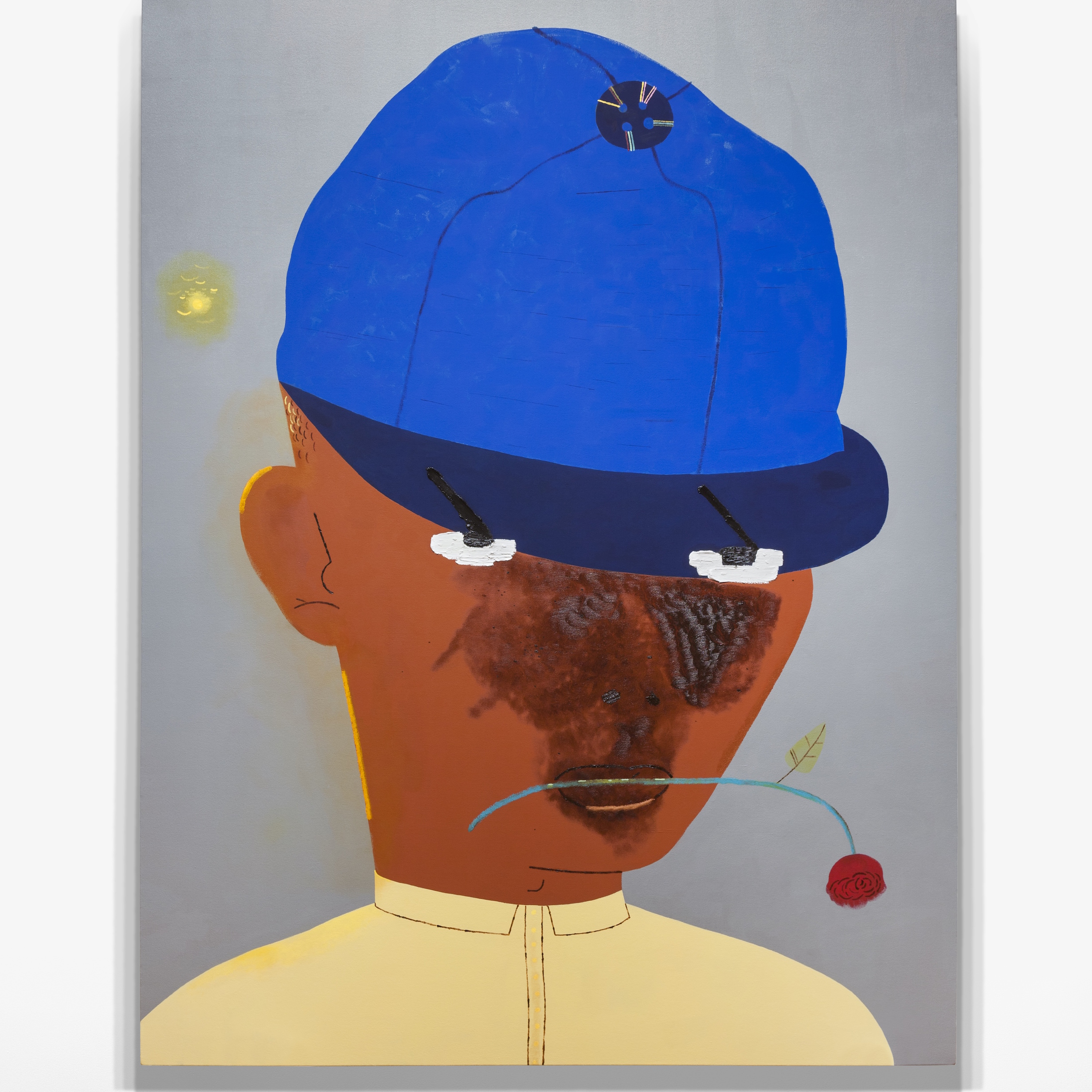 Kenny Rivero, New Hat, 2019. Courtesy the artist and Charles Moffett.