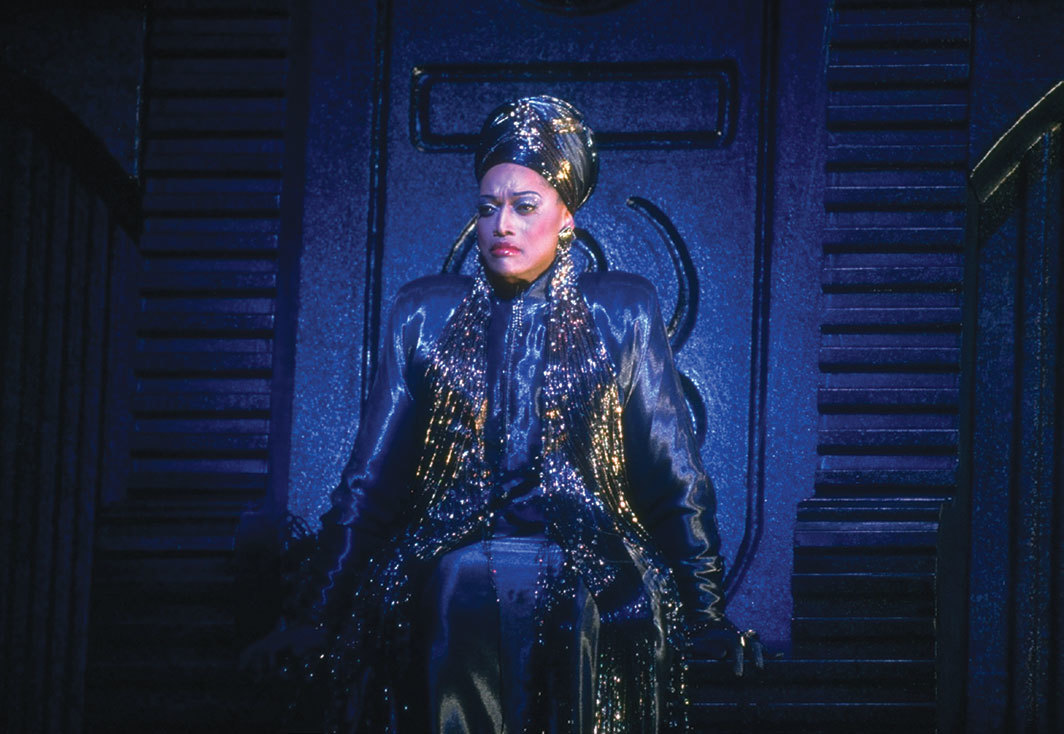 Jessye Norman performing in Leoš Janáček's 1925 The Makropulos Case, Metropolitan Opera, New York, January 1996. Photo: Johan Elbers/The LIFE Images Collection via Getty.
