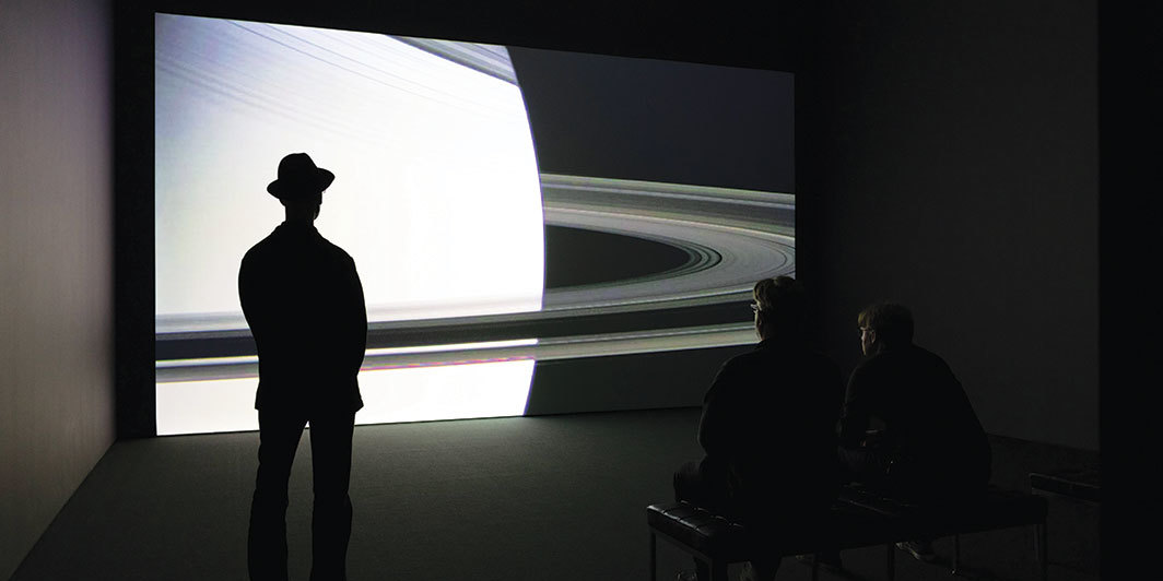 Arthur Jafa, APEX, 2013, HD video, color, sound, 8 minutes 22 seconds. Installation view, Museum of Modern Art, New York, 2019. Photo: Denis Doorly.