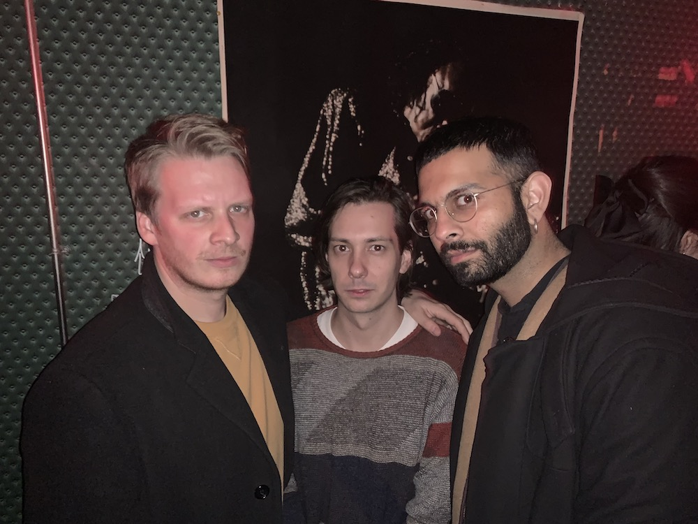 Writers Andrew Durbin, Kevin Champoux, and Shiv Kotecha.
