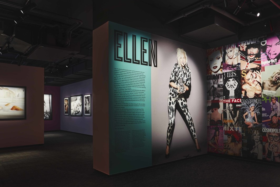 "Installation view of ""Devotion! 30 Years of Photographing Women."" Courtesy of Fotografiska."