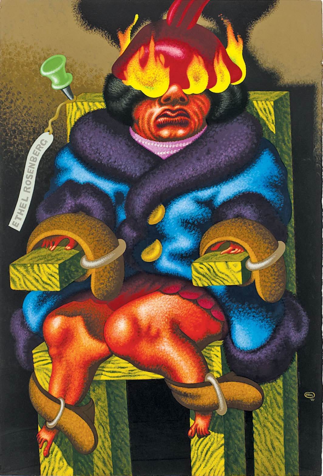 """Peter Saul: Crime and Punishment"""