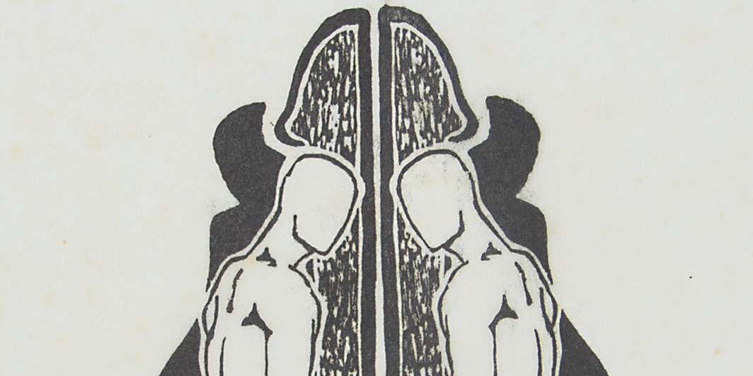 "Hudinilson Jr., untitled, 1979, woodcut on paper, sheet 8 5⁄8 × 11 3⁄4""."