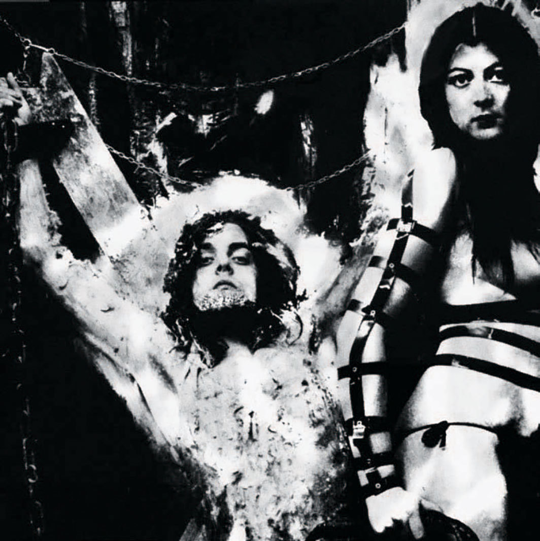 COUM Transmissions poster (detail), 1973. Genesis Breyer P-Orridge and Cosey Fanni Tutti.