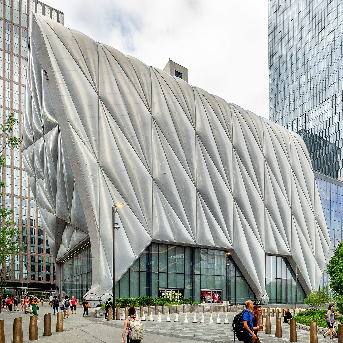 The Shed, New York. Photo: Wikipedia.