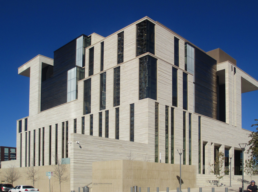 The US Courthouse in Austin, Texas. Photo: Wikimedia.