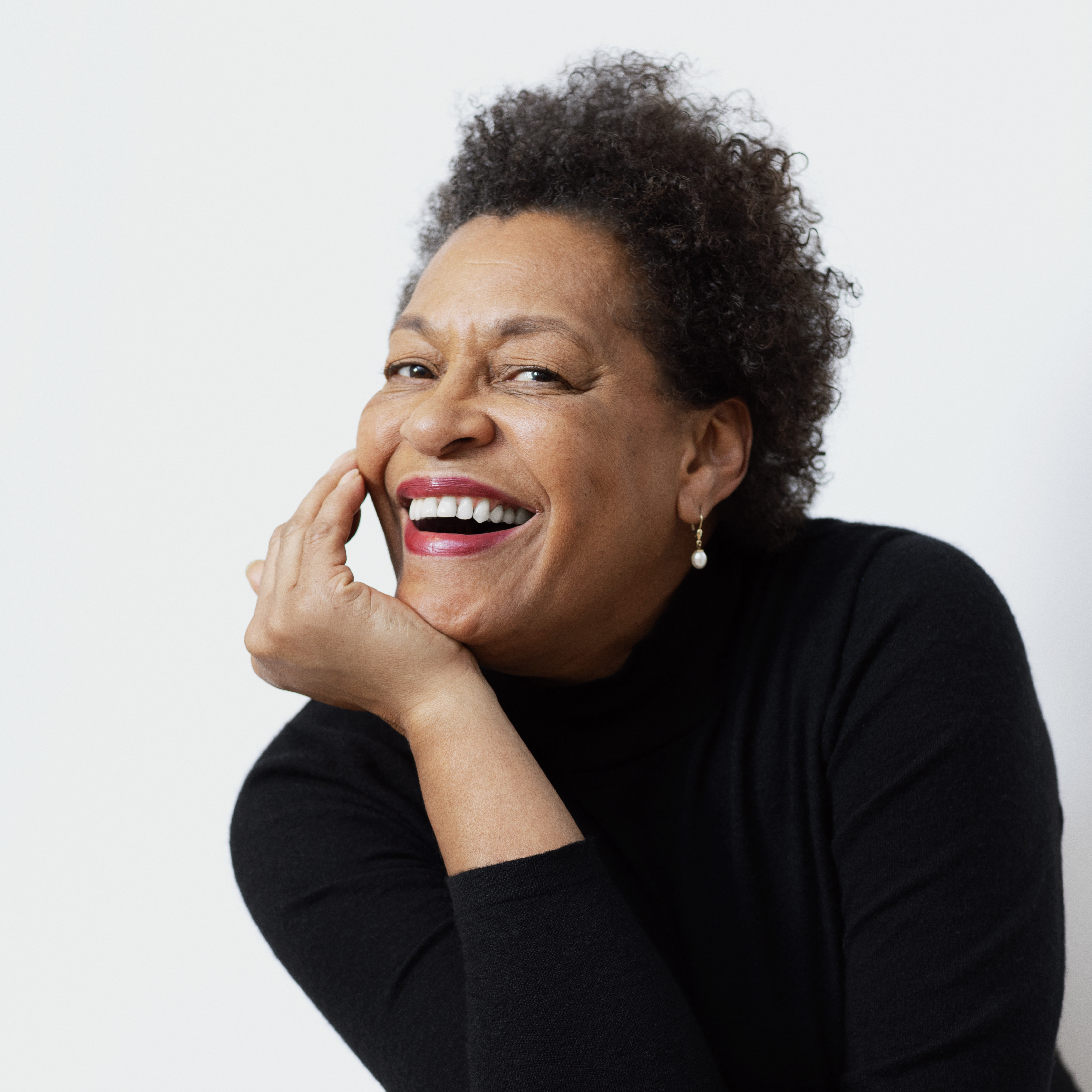 Mentor Carrie Mae Weems. Photo: Rolex/Audoin Desforges.