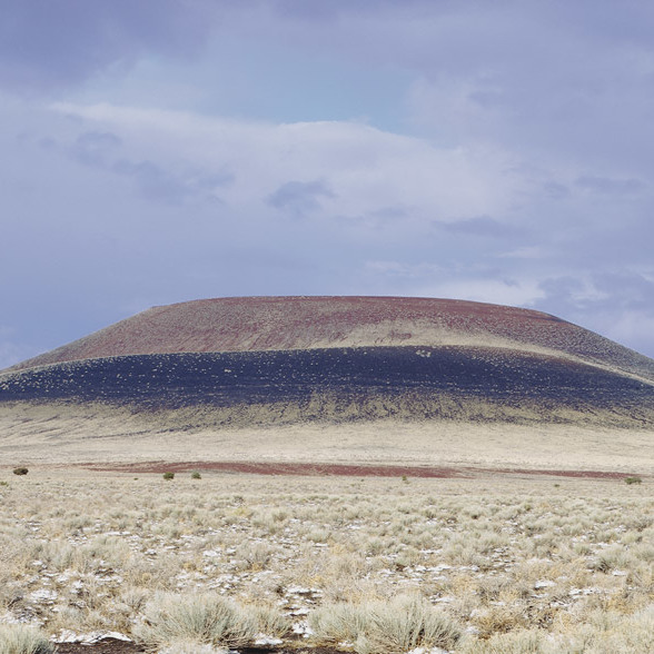 Roden Crater, Flagstaff, Arizona, 1979. Photo: James Turrell/Wikiart.