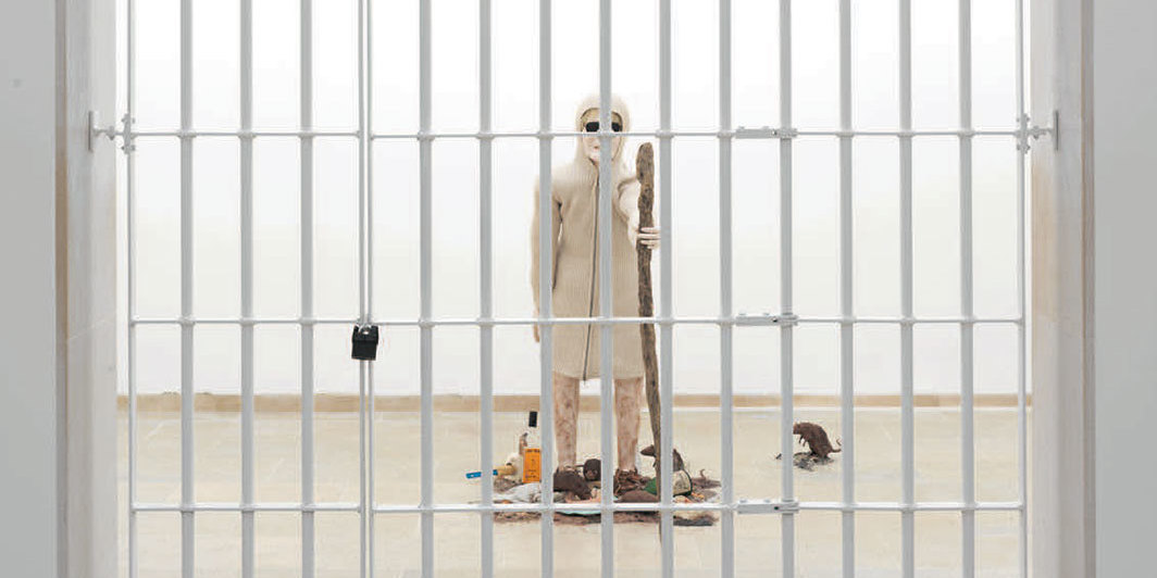Jos de Gruyter and Harald Thys, The Rat Woman, 2019, mixed media. Installation view, Belgian pavilion, Venice. From the 58th Venice Biennale. Photo: Nick Ash.