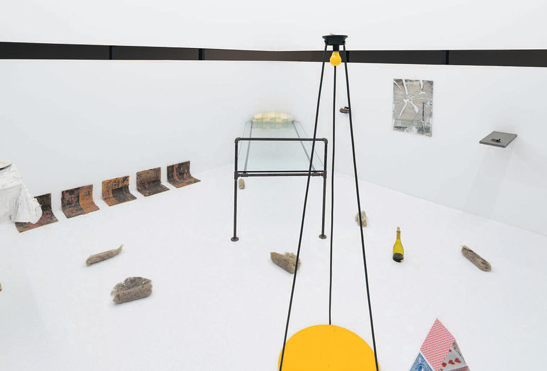 Luis Camnitzer, El mirador (The Observatory), 1996, mixed media. Installation view.