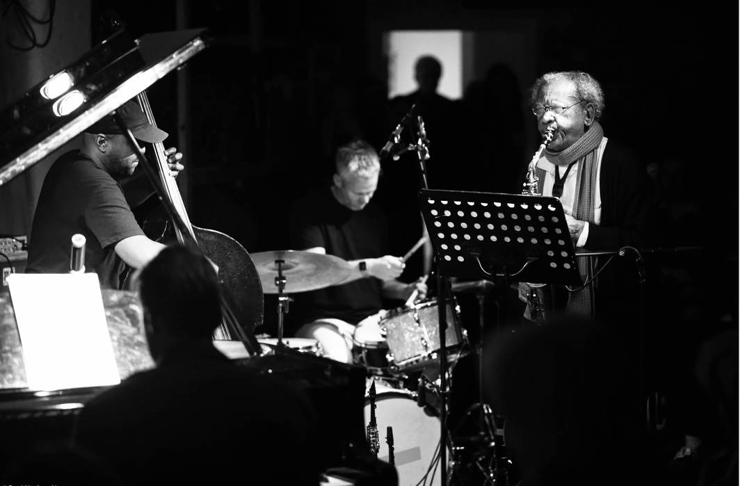Anthony Braxton Standard Quartet at Cafe OTO, London, January 2020. Photo: Dawid Laskowski.