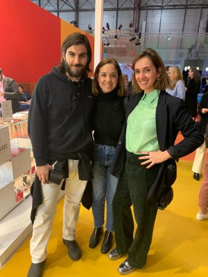Jan Rivera, creative director of Mango, Sofía López-Quesada from Wozere, and Ainhoa San Martín.