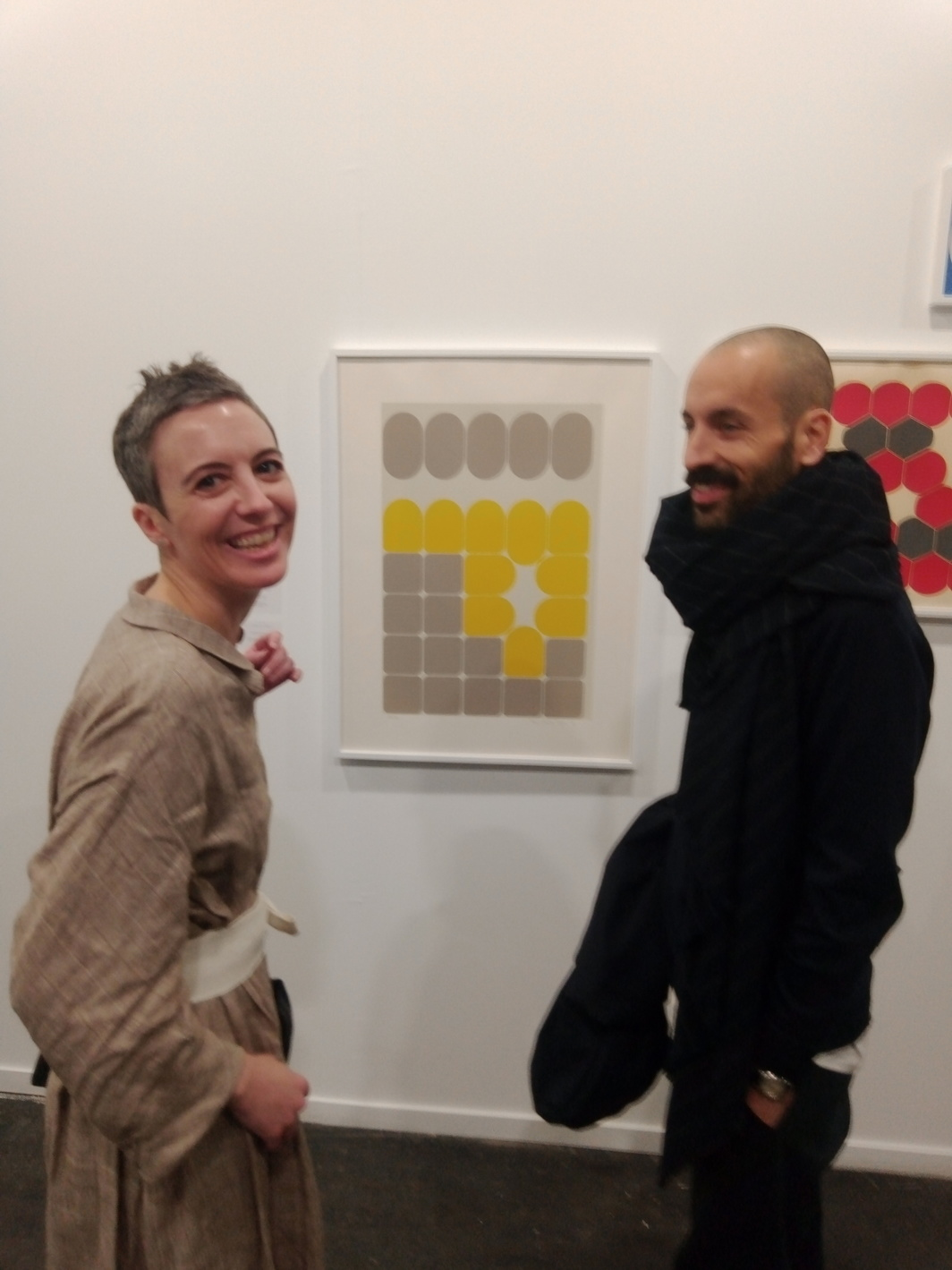 María García Yelo, from Christie's Spain, and Chisco Villar.