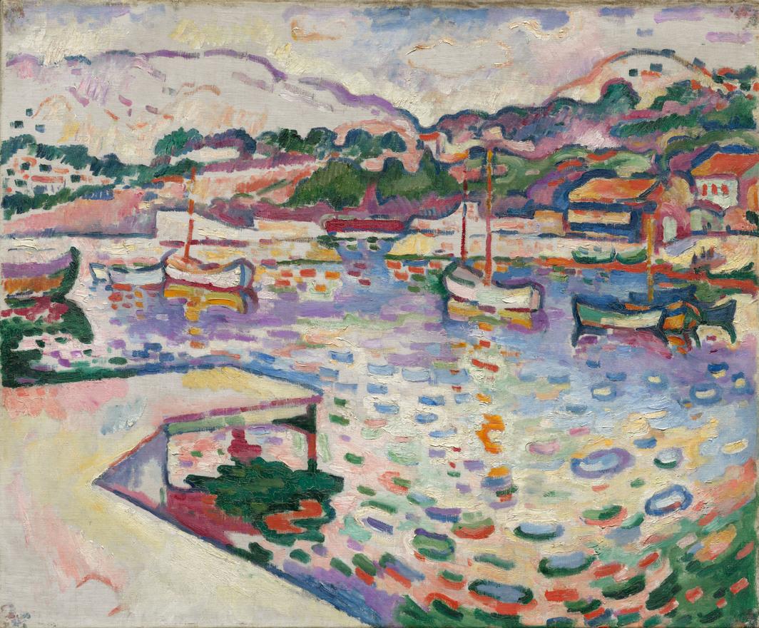 Georges Braque, The Port de l'Estaque, The Pier, 1906.