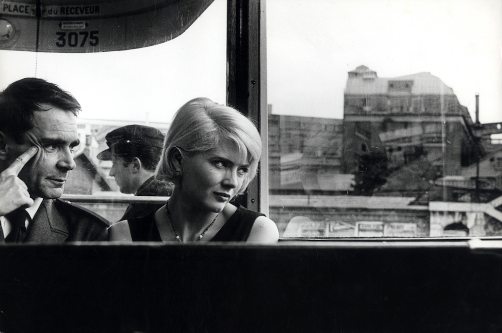 Agnès Varda, Cléo de 5 à 7 (Cléo from 5 to 7), 1962, 35 mm, black-and-white, sound, 90 minutes. Antoine (Antoine Bourseiller) and Cléo (Corinne Marchand).