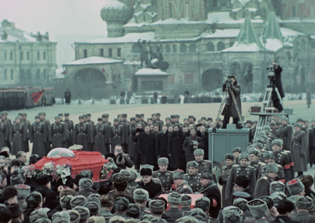 Sergei Loznitsa, State Funeral, 2019, 2K video, color and black-and-white, sound, 135 minutes.