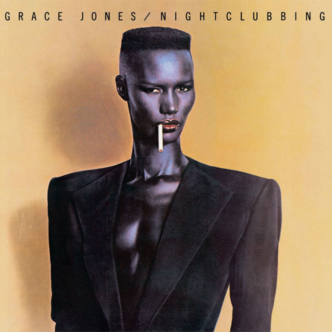 Cover of Grace Jones's Nightclubbing (Island Records, 1981).