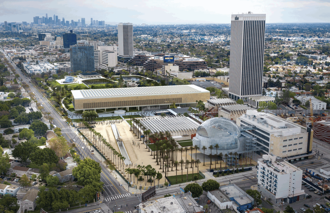 Rendering of Paul Murdoch Architects' LACMA design. Photo: Paul Murdoch Architects.