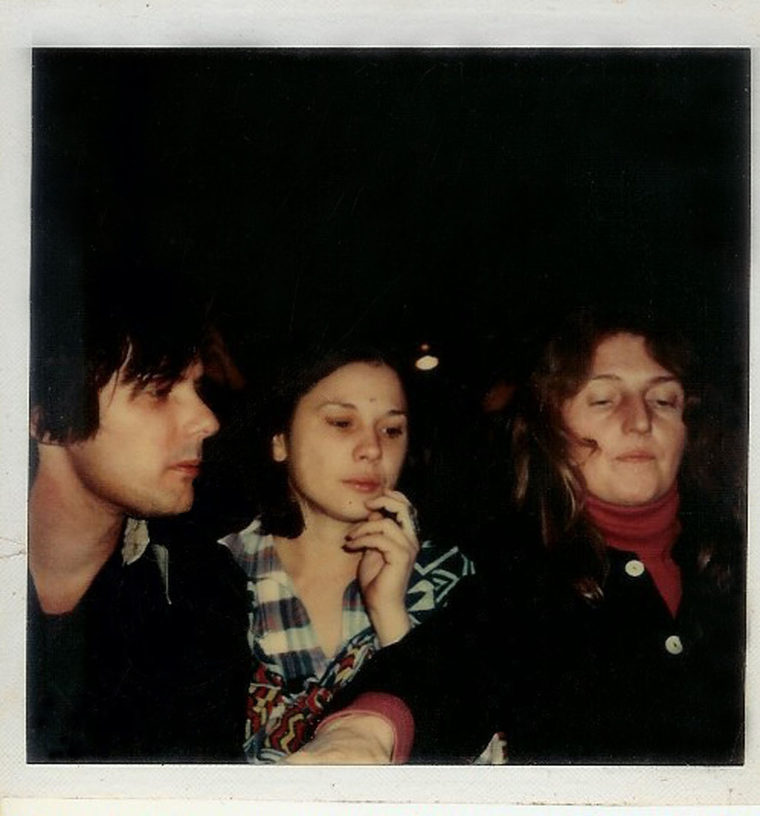 Polaroid of Gordon Matta-Clark, Tina Girouard, and Suzanne Harris, c. 1975.