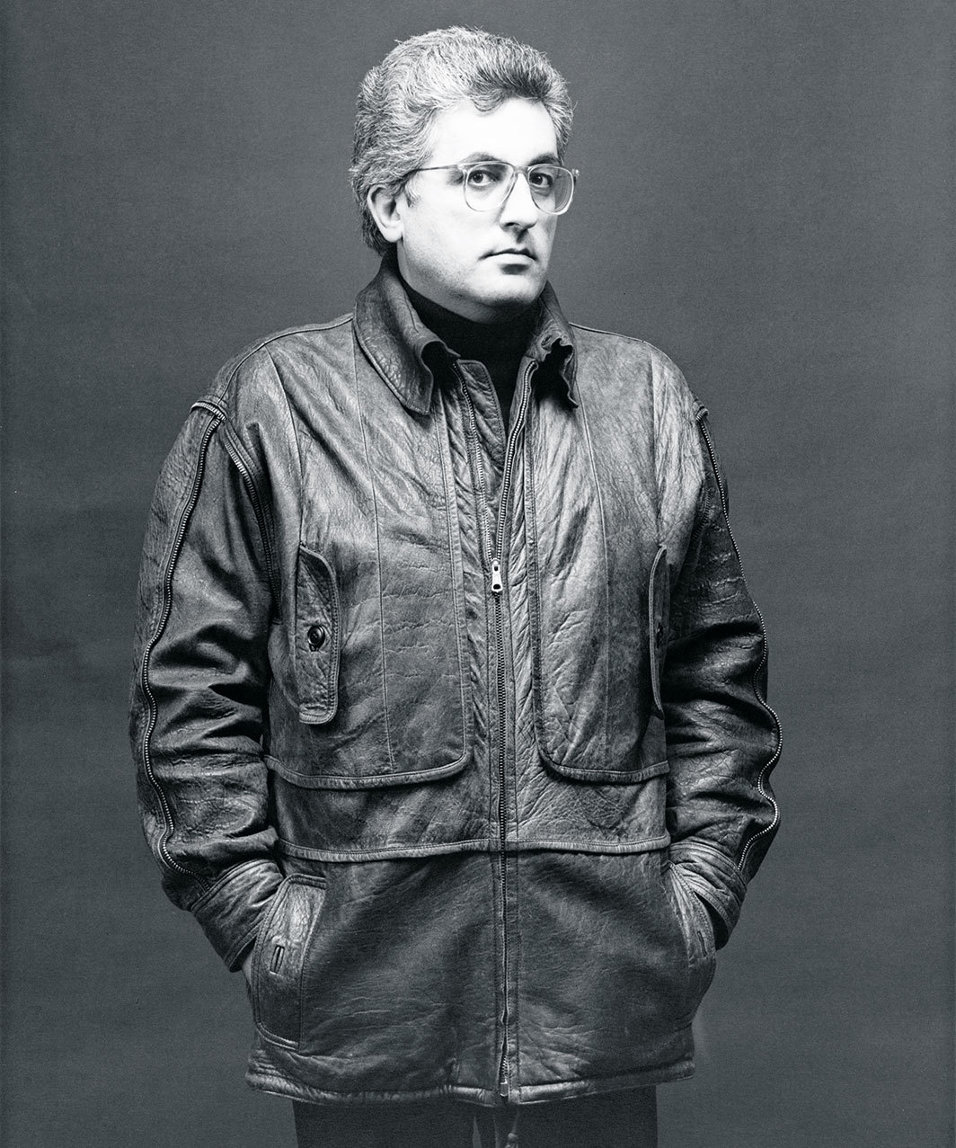 Germano Celant, 1984. Photo: Robert Mapplethorpe.