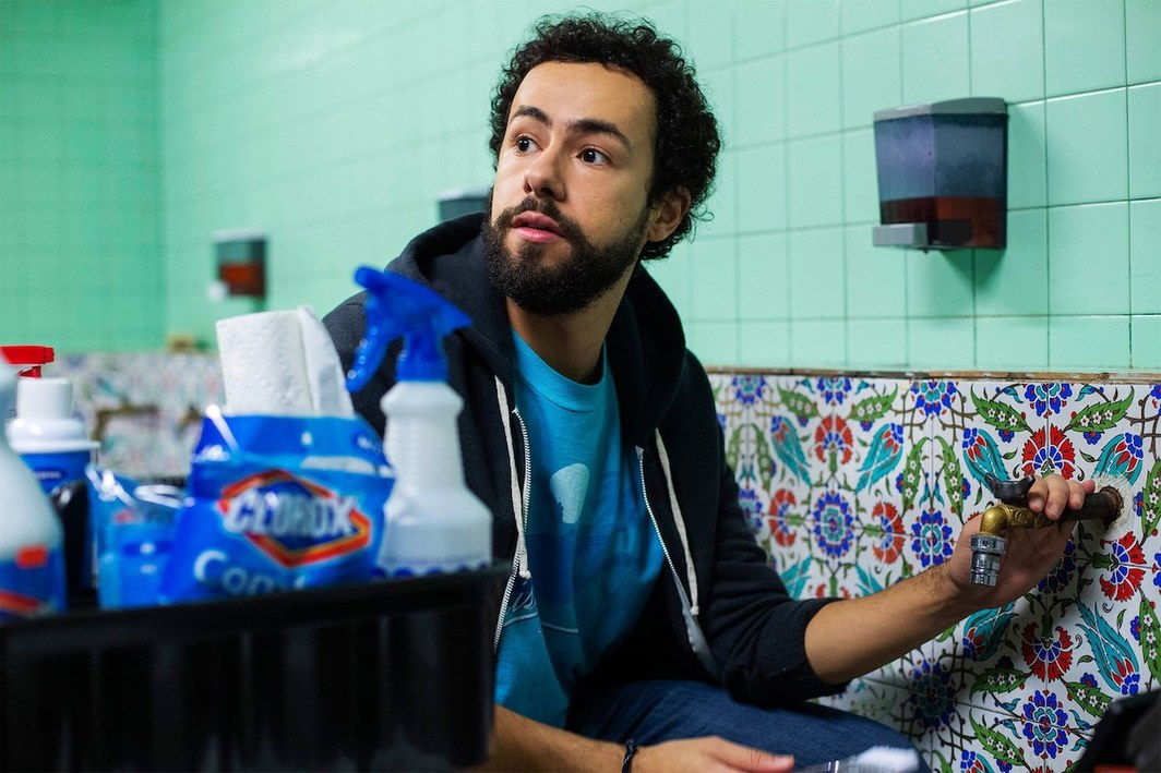 Ramy, still from a TV show on Hulu. Ramy Hassan (Ramy Youseff).