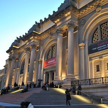 The Metropolitan Museum of Art's flagship building on Fifth Avenue.
