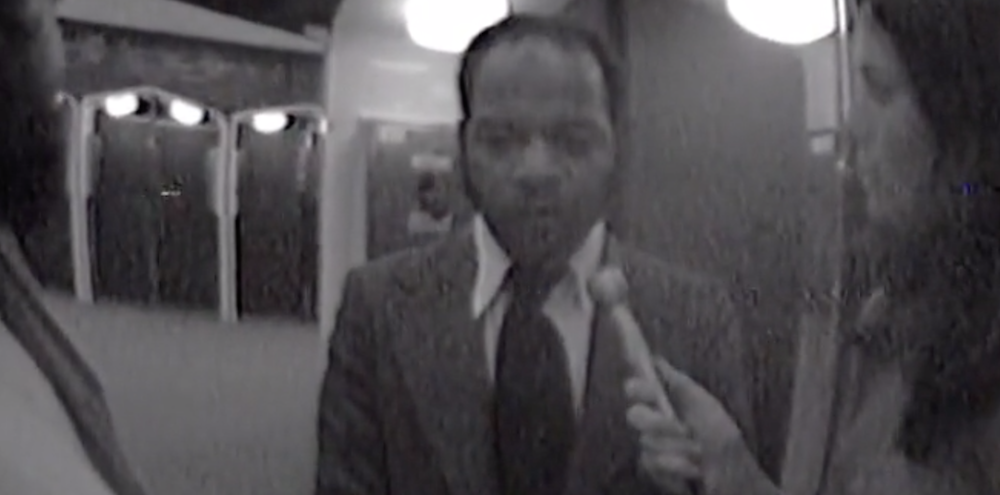 John Lewis and Tom Houck at the 1972 Republican National Convention