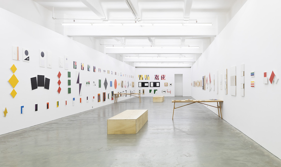 "View of ""John Nixon: Groups + Pairs 2016–2020."" Anna Schwartz Gallery, Melbourne, 2020."