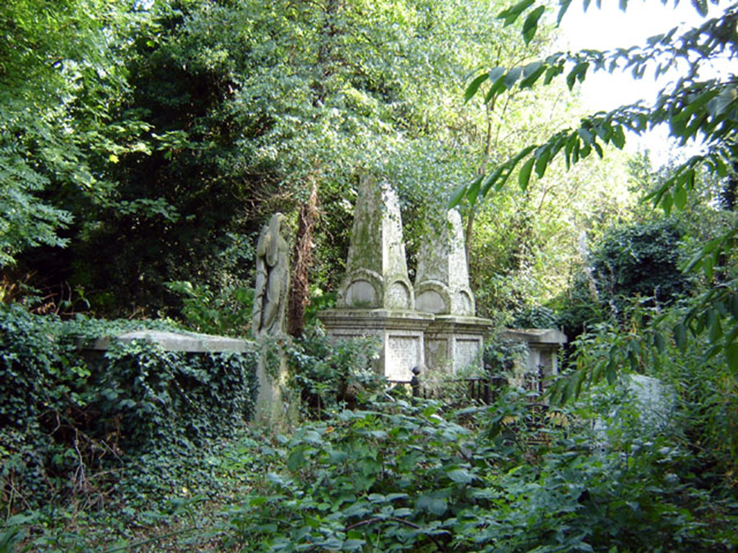 Abney Park Cemetery in London. Photo: Wikipedia.