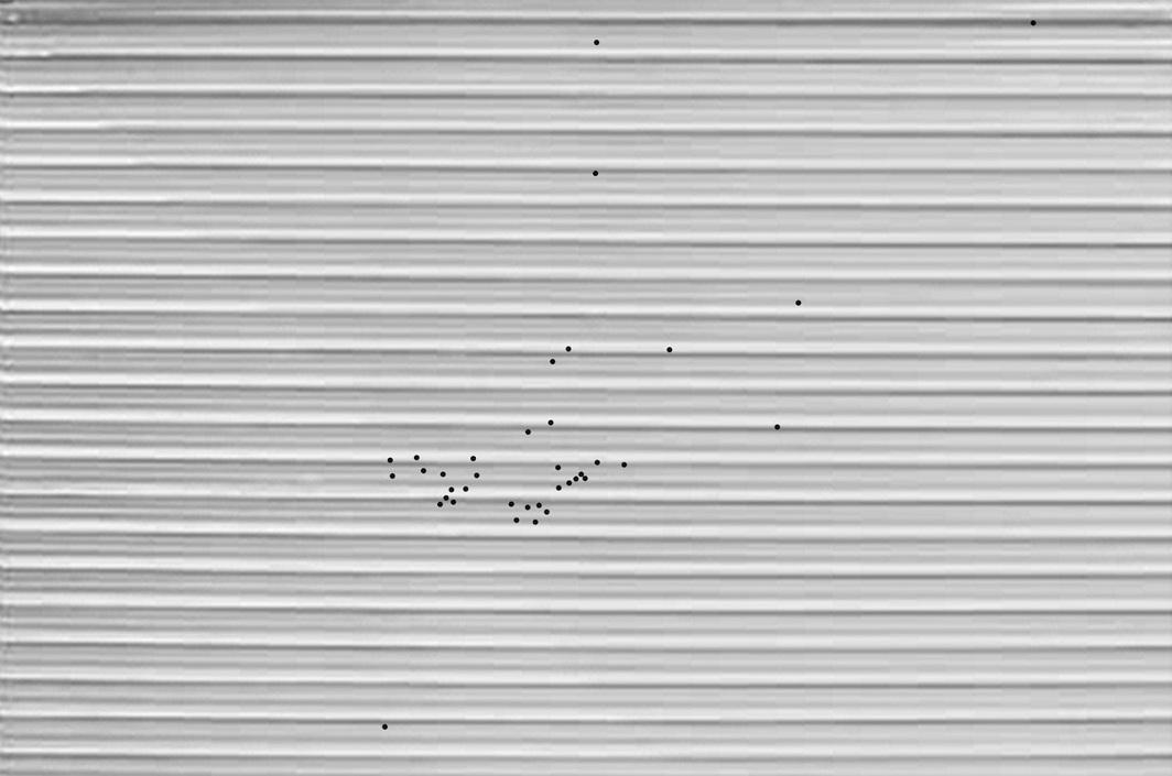 Preparatory sketch for Stéphanie Saadé's A Discreet Intruder, 2020 (digital rendering).