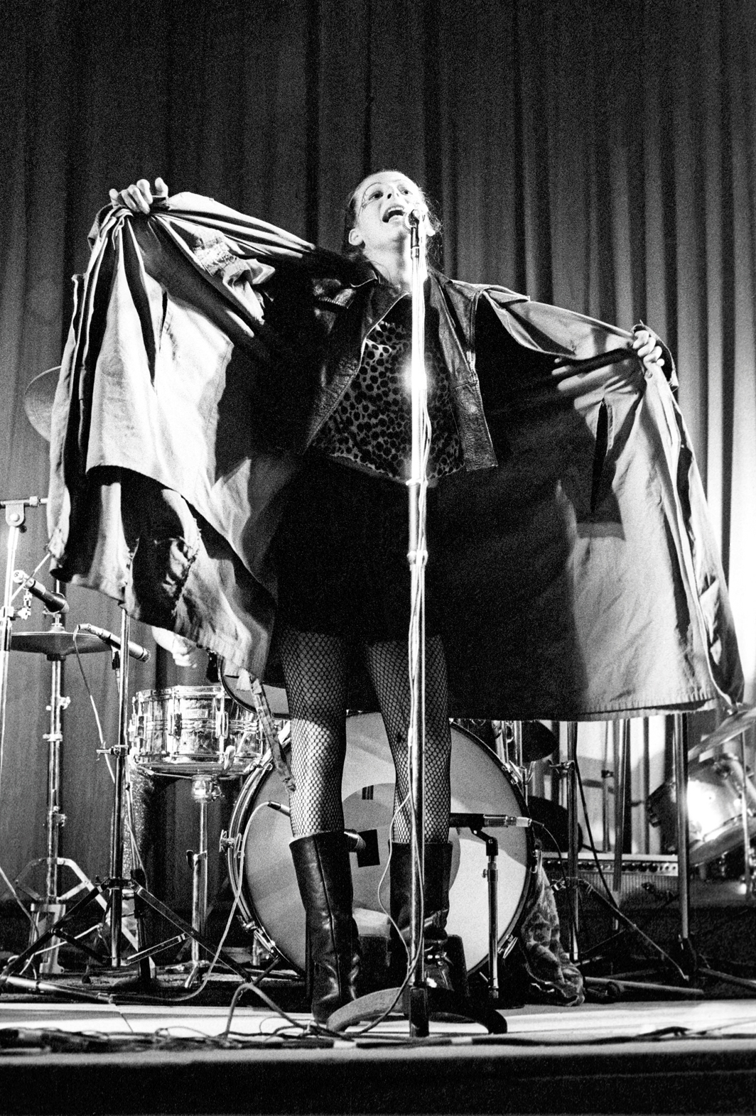 Ari Up performing with the Slits at the Coliseum, London, March 11, 1977. Photo: Ian Dickson/Shutterstock.