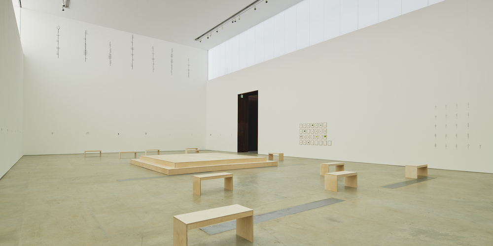"View of ""Katie Holten,"" 2020, Visual Centre for Contemporary Art, Carlow, Ireland."