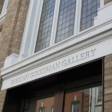 Marian Goodman Gallery, London.
