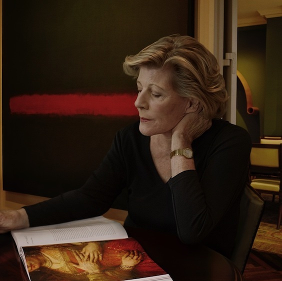 Agnes Gund, New York City, 2014. Photo: Annie Leibovitz. Courtesy of the Dwight D. Opperman Foundation.