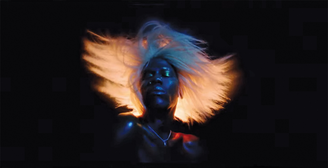 Still from Yves Tumor's 2020 Heaven to a Tortured Mind album trailer, directed by Jordan Hemingway.