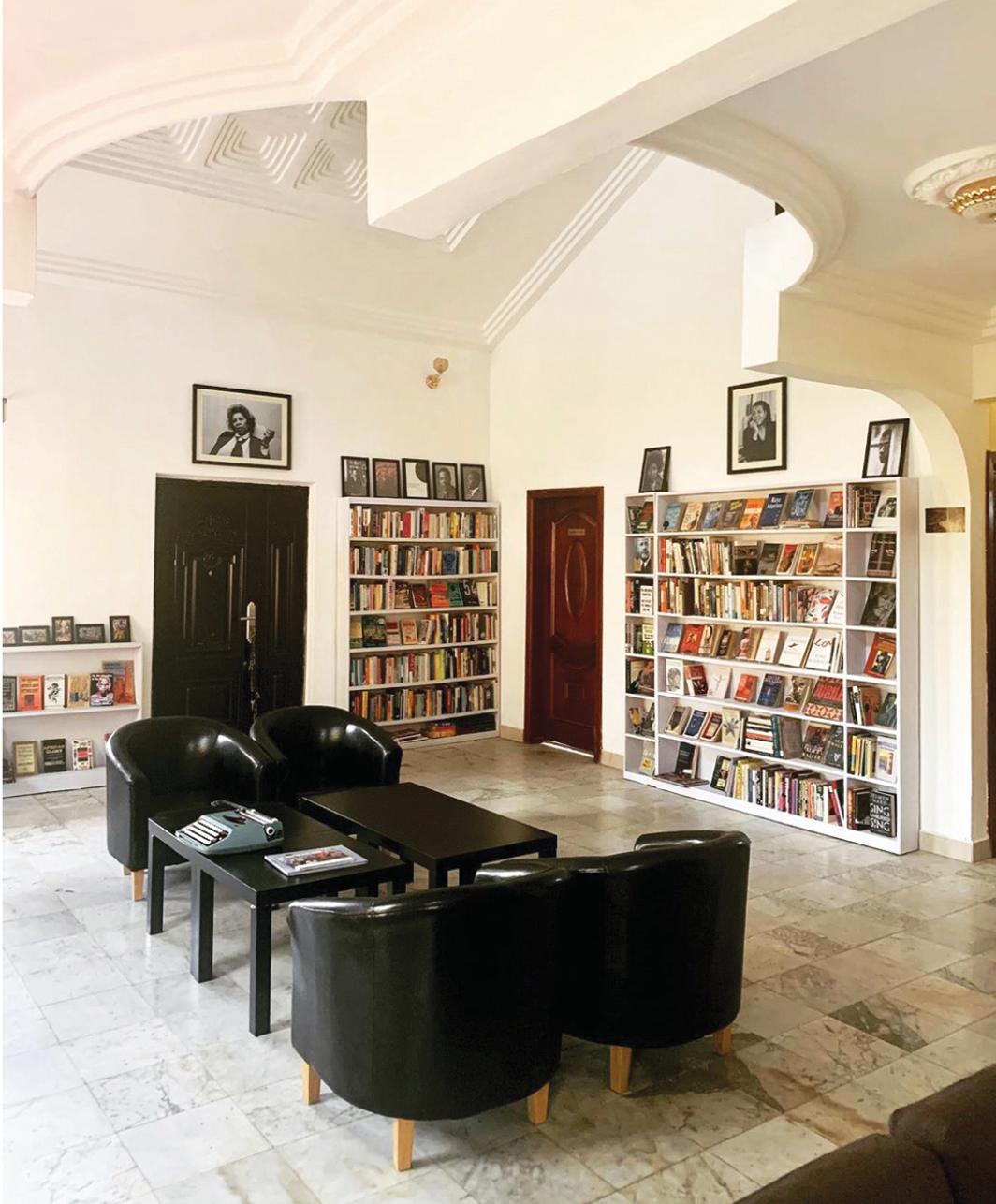 Library of Africa and the African Diaspora, Accra, Ghana, 2020.